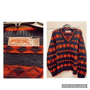 Vintage Ski Sweater, Large